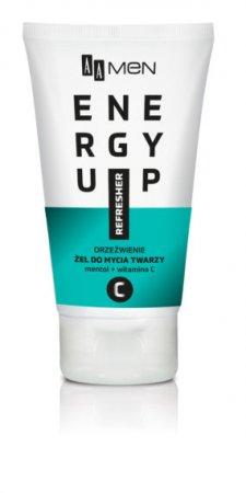 AA MEN Energy Up, żel do mycia twarzy orzeźwienie, 150 ml