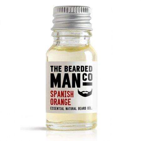 Bearded Man Spanish Orange, olejek do brody Hiszpańska Pomarańcza, 10ml