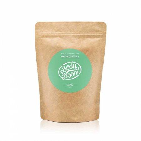 BodyBoom, peeling kawowy do ciała, Rześka Mięta, 30g