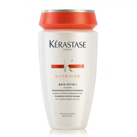 Kerastase Nutritive Irisome Bain Satin 1, kąpiel odżywcza, włosy suche i cienkie, 250ml