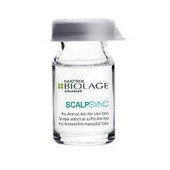 Biolage ScalpSync, Aminexil, kuracja przeciw wypadaniu, ampułka, 6ml