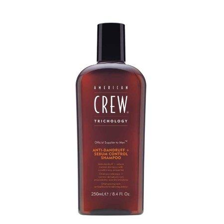 American Crew Classic, 2w1 przeciwłupieżowy szampon do włosów przetłuszczających się, 250ml