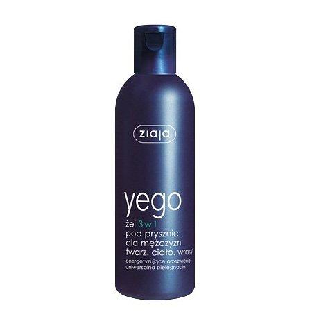 Ziaja Yego, żel pod prysznic 3w1 dla mężczyzn, 300ml