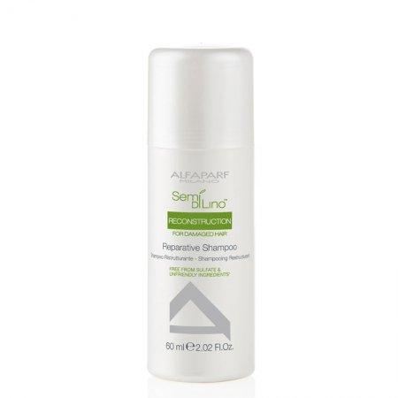 Alfaparf Semi di Lino, szampon regenerujący, 60ml