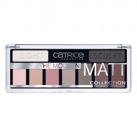 Catrice The Modern Matt Collection Eyeshadow Palette, paleta cieni do powiek