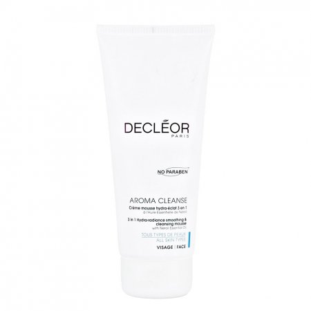 Decleor Aroma Cleanse, pianka do demakijażu 3w1, 200ml