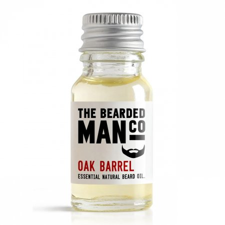 Bearded Man Oak Barrel, olejek do brody Dębowa Beczka, 10ml