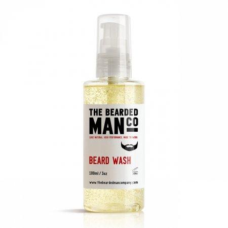 Bearded Man Beard Wash, szampon z odżywką do brody i wąsów, 100ml