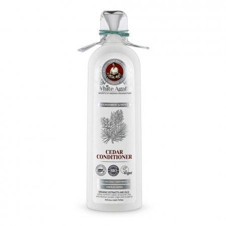 Babuszka Agafia White Agafia, organiczna odżywka z cedrem odżywienie i regeneracja, 280ml