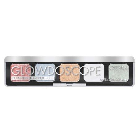 Catrice Glowdoscope, paleta kolorowych rozświetlaczy