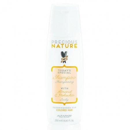 Alfaparf Precious Nature, szampon do włosów farbowanych, 250ml