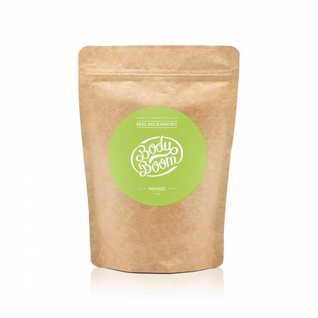 BodyBoom, peeling kawowy do ciała, Boskie Mango, 200g