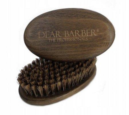 Dear Barber, szczotka do brody, kartacz, orzech