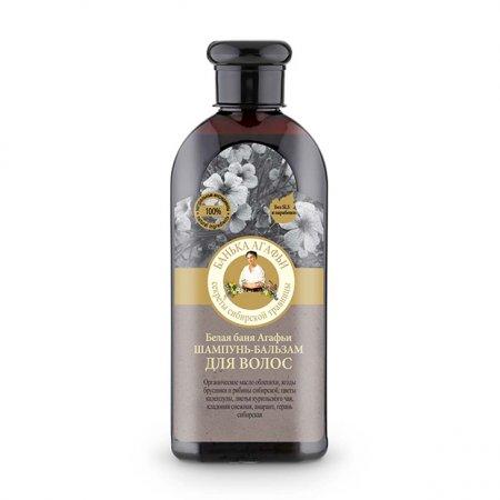 Babuszka Agafia, szampon i odżywka 2w1, 350ml