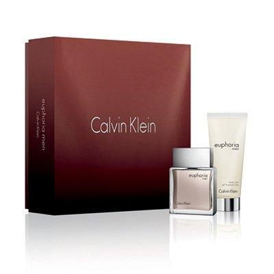 Calvin Klein Euphoria, zestaw perfum Edt 50ml + 100ml żel pod prysznic (M)