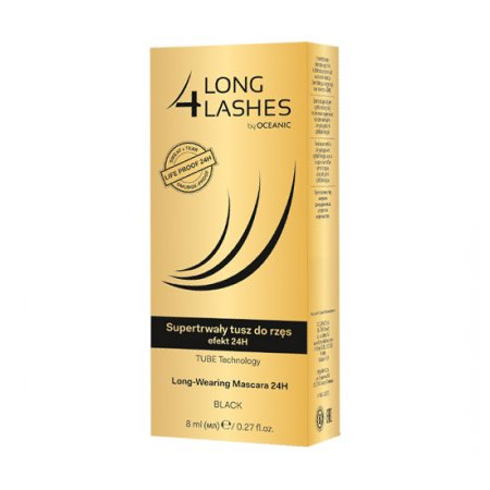 AA Long4Lashes, supertrwały tusz do rzęs efekt 24H, 8ml