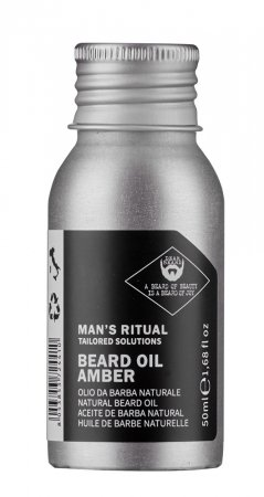 Dear Beard Man's Ritual, olejek do brody bursztynowy, 50ml