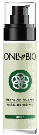 OnlyBio, krem do twarzy na dzień, nawilżająco-odżywczy, 50ml