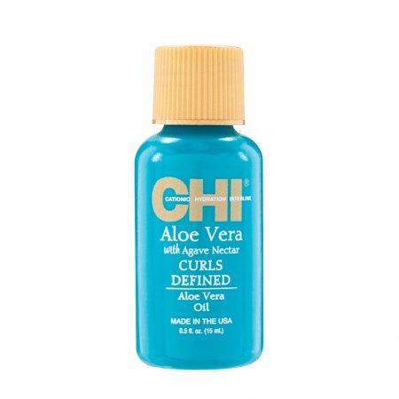 CHI Aloe Vera, olejek do włosów kręconych, 15ml