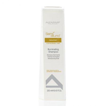 Alfaparf Semi di Lino Diamond, szampon rozświetlający, 250ml