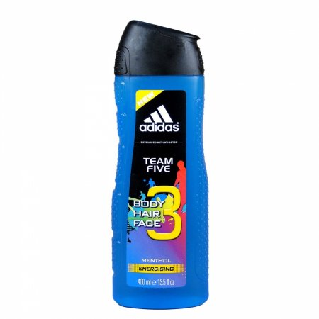Adidas Team Five, żel pod prysznic, 400ml (M)