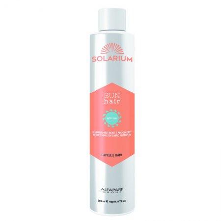 Alfaparf Solarium, szampon odżywczo-wygładzający, 250ml