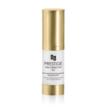 AA Prestige Age Corrector, błyskawicznie wygładzający krem pod oczy, 40+, 15ml