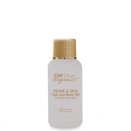 CHI Olive Organics, olejek do włosów i ciała, 15ml