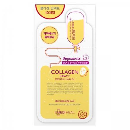 Mediheal Collagen Impact Essential Mask EX., maska ujędrniająco-przeciwzmarszczkowa, 24ml