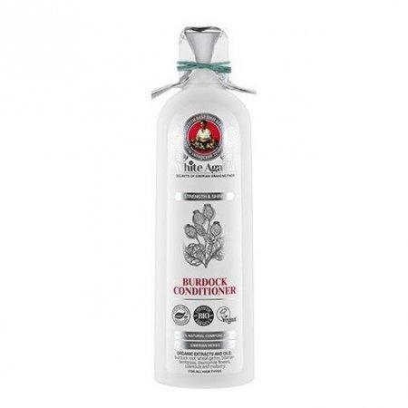 Babuszka Agafia White Agafia, organiczna odżywka z łopianem siła i blask, 280ml