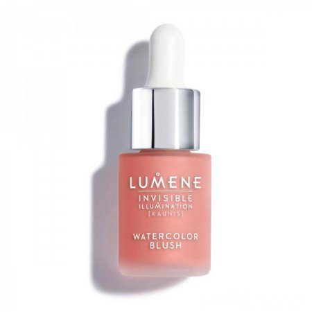 Lumene Invisible Illumination, róż z serum, 15ml