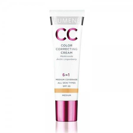 Lumene CC Color Correcting Cream, krem CC do twarzy, 30ml