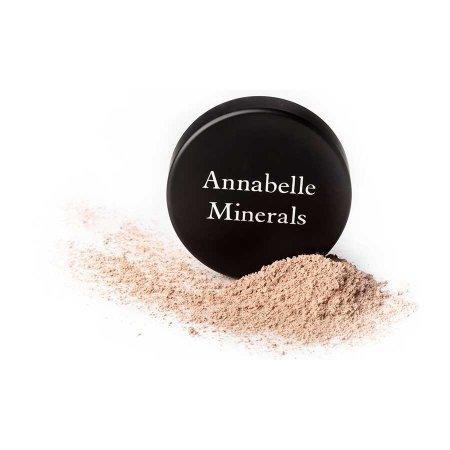 Annabelle Minerals, podkład mineralny rozświetlający, próbka 1g