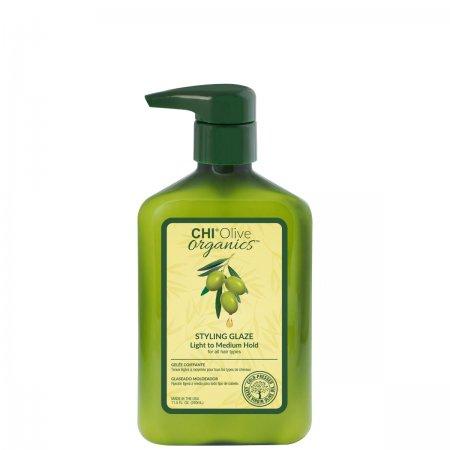 CHI Olive Organics, żel do stylizacji, 340ml