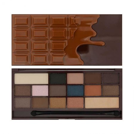 Makeup Revolution, paleta cieni do powiek, I Heart Chocolate Salted Caramel