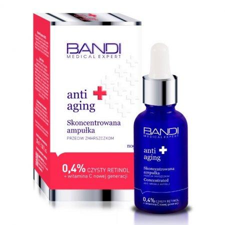 Bandi Medical Expert, Anti Aging, skoncentrowana ampułka przeciw zmarszczkom z retinolem, 30ml