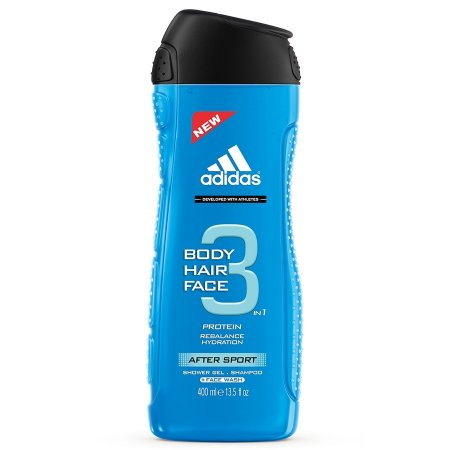 Adidas 3in1 After Sport, żel pod prysznic, 400ml (M)