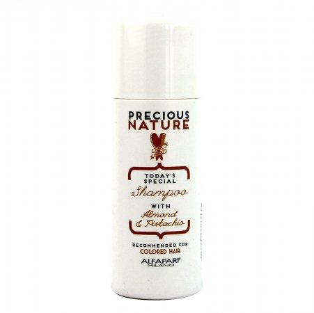 Alfaparf Precious Nature Mini, szampon do włosów farbowanych, 60 ml