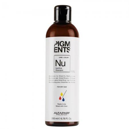 Alfaparf Pigments, szampon do włosów suchych, 200ml