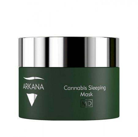 Arkana Cannabis Therapy, kanabisowa maska na noc dla skóry dysfunkcyjnej, 50ml, ref. 53011