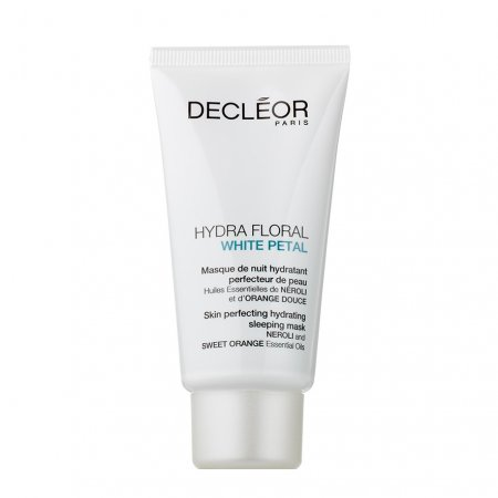 Decleor Hydra Floral White Petal, maska na noc, 50ml