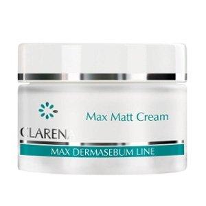 Clarena Max Dermasebum, Max Matt Cream, krem matujący do cery tłustej i mieszanej, 50ml