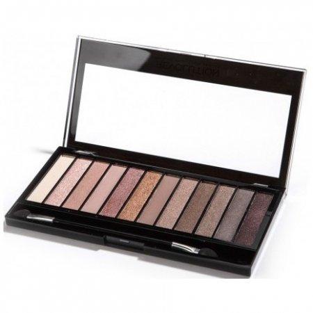 Makeup Revolution, paleta cieni do powiek, Iconic 3