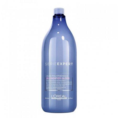 Loreal Blondifier Gloss, szampon nabłyszczający do włosów blond, 1500ml