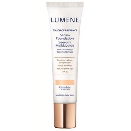 Lumene Touch of Radiance Serum Foundation, ujędrniający podkład z odmładzającym serum, 30ml
