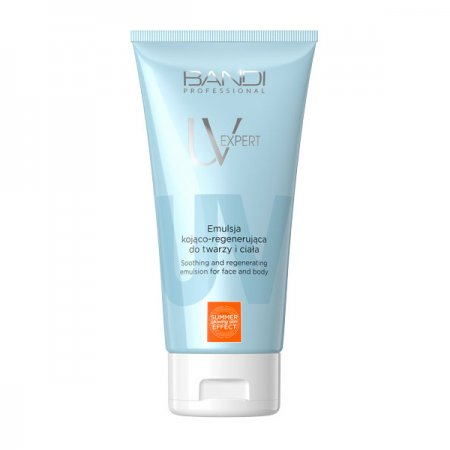 Bandi UV Expert, emulsja kojąco-regenerująca do twarzy i ciała, 150ml