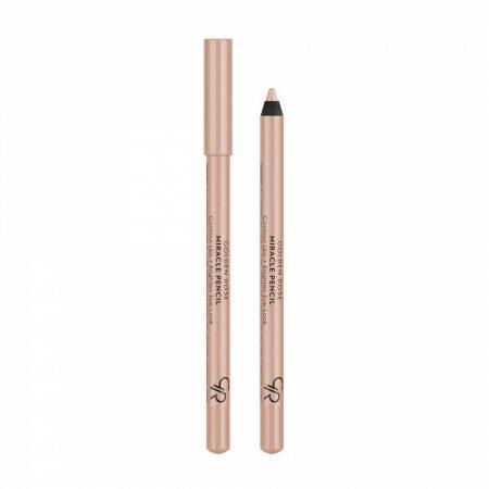 Golden Rose Miracle Pencil, cielista kredka rozświetlająca do oczu i ust, 1,6g