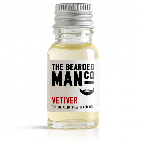 Bearded Man Vetiver, olejek do brody Wetiweria, 2ml