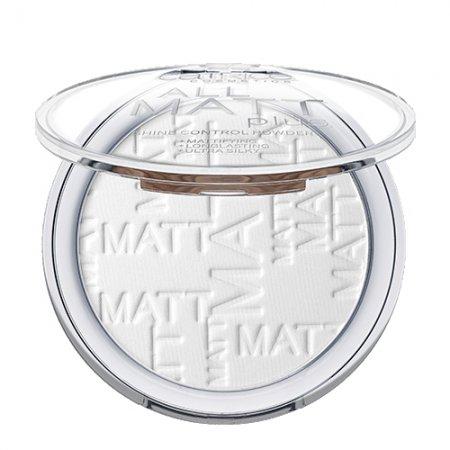Catrice, All Matt Plus Shine Control Powder, puder matujący