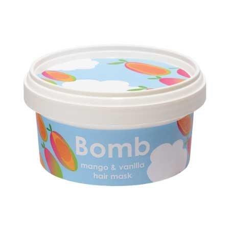 Bomb Cosmetics, maseczka do włosów z olejem Brassica, Mango & Vanilla, 210ml